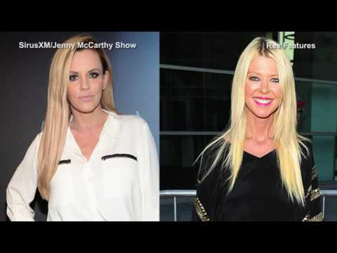'Hope you stay married' Tara Reid walks out on Jenny McCarthy