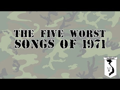 The Five Worst Songs of 1971