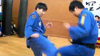 (79)Gongkwon Yusul  black belt  test (Korean Martial Arts)