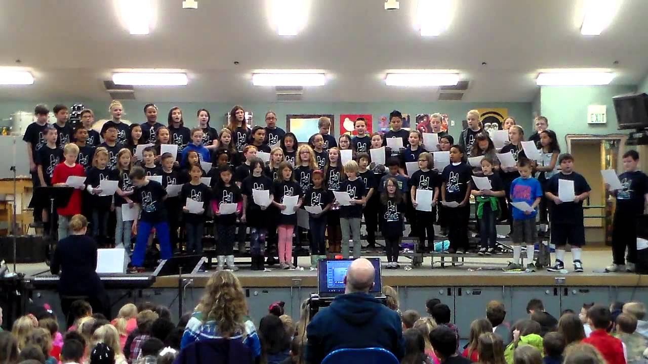 Thank You Soldiers - Tumwater Hill Elementary