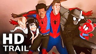 SPIDER-MAN: Into The Spider Verse ALL Movie Clips + Trailers (2018)