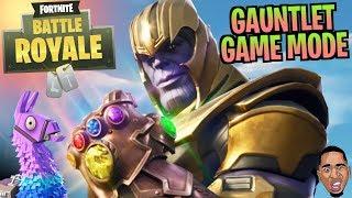 THANOS AVENGERS Infinity Gauntlet MODE! Fortnite Battle Royale