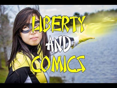 Liberty and Comics Voluntaryist ORIGINS Graphic Novel