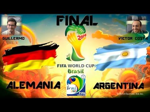 FINAL - Mundial Brasil 2014 - ALEMANIA VS ARGENTINA - PS3 - COPA MUNDIAL FIFA - GAMEPLAY - 2.0
