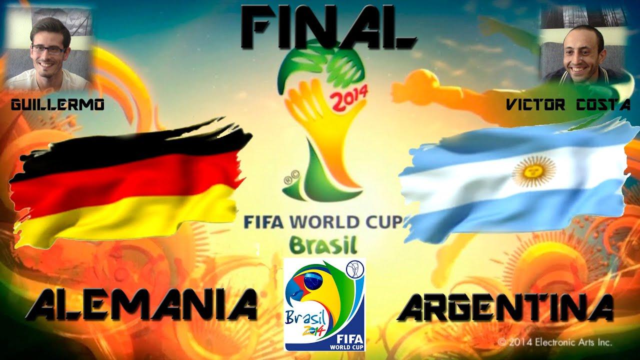Argentina Vs Brasil: ALEMANIA VS ARGENTINA