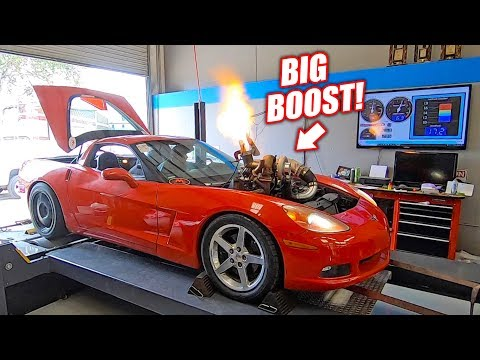 The Auction Corvette Goes Back on the Dyno... Will the 'NEW' Junkyard Engine Hold?