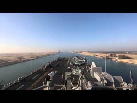 USS Kearsarge Suez Canal Transit
