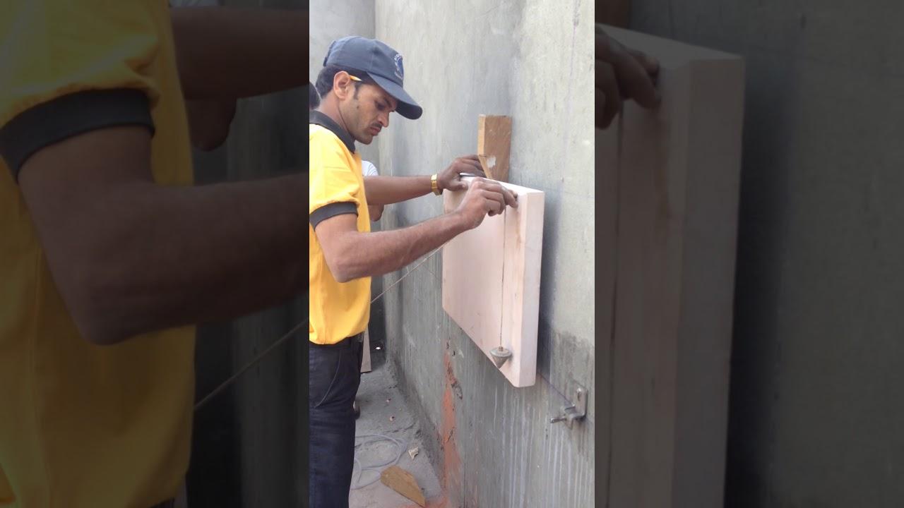 Stone Dry Cladding Youtube