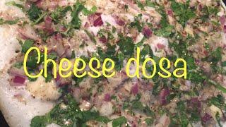 Cheese dosa | Onion cheese dosa | cheese dosa from Swathi's Kitchen | kids snack | kids favorite