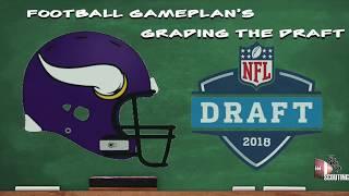 Football Gameplan's 2018 NFL Draft Grades: Minnesota Vikings