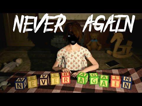 Never Again прохождение на русском #1 | Never Again Инди хоррор