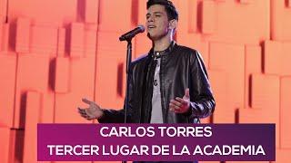 Entrevista a Carlos Torres, tercer lugar de La Academia | Blog927