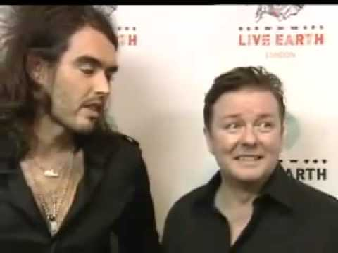 Ricky Gervais And Russell Brand  funniest  ever!