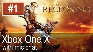 Kingdoms of Amalur: Reckoning Xbox One X Gameplay (Let's Play #1)
