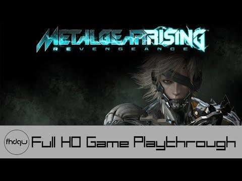 Metal Gear Rising: Revengeance - Full Game Playthrough (No Commentary)