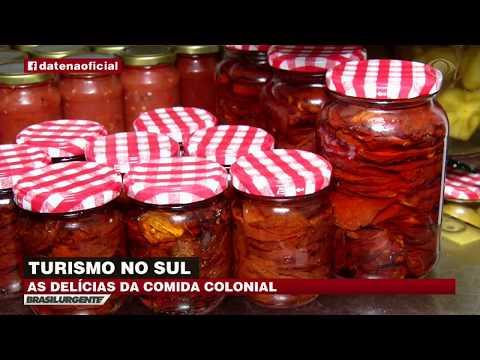 Comida colonial vira atração turística no Sul