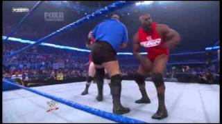 Mix of finishers on Friday Night SmackDown! 22/10/2010