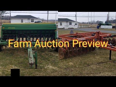Farm Auction Preview