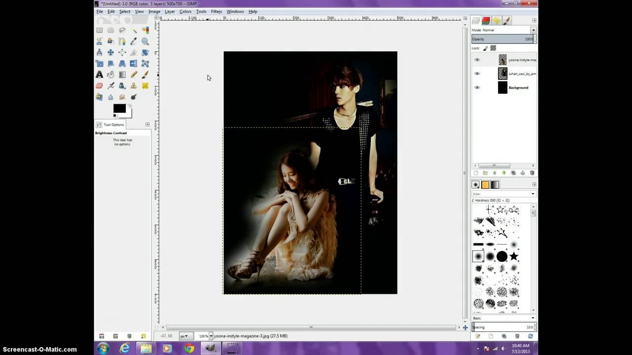 8 5x11 poster design - Poster Design Gimp Gimp 2 8 Fanfic Poster Tutorial Dark Angst Poster