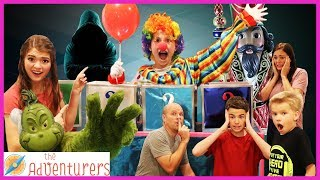 Villains The Next Level MOVIE! (Hacker, Grinch, Spell Book) / That YouTub3 Family I The Adventurers