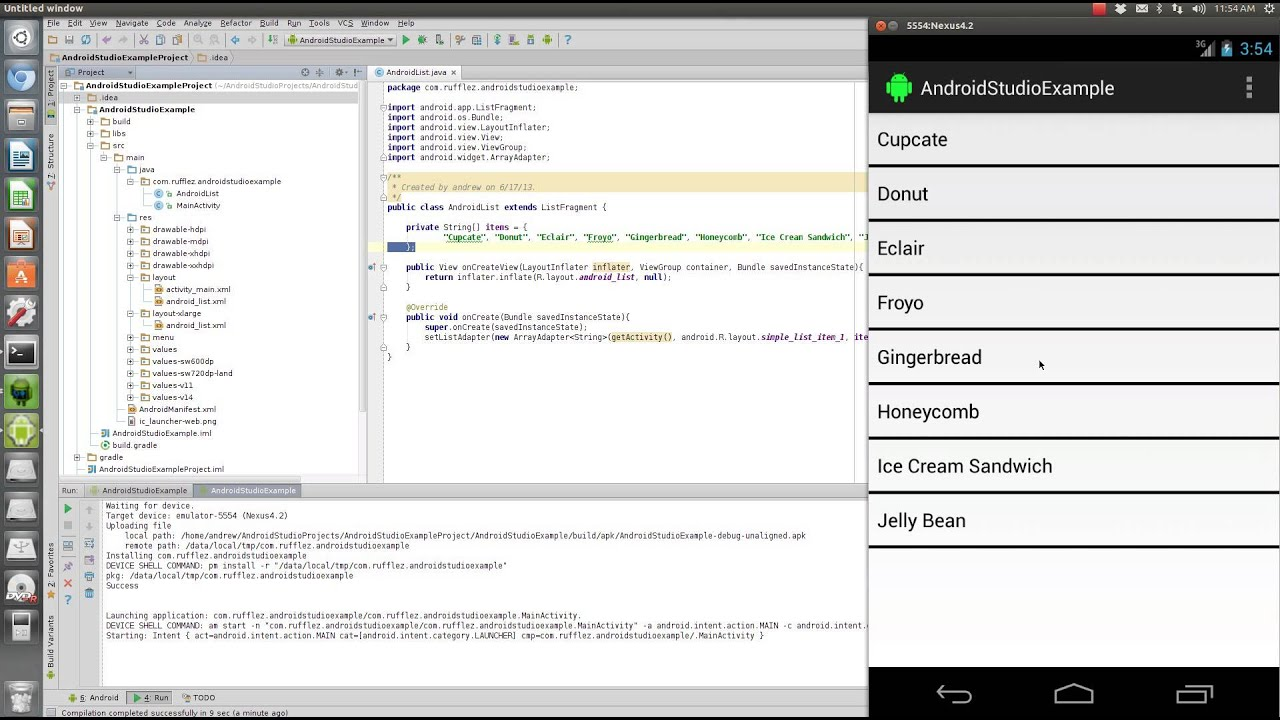 Android Studio Tutorial - YouTube