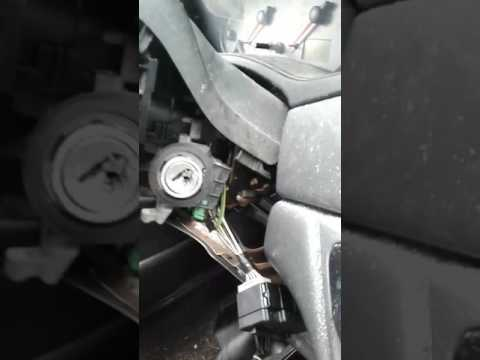 Ignition lock drill out