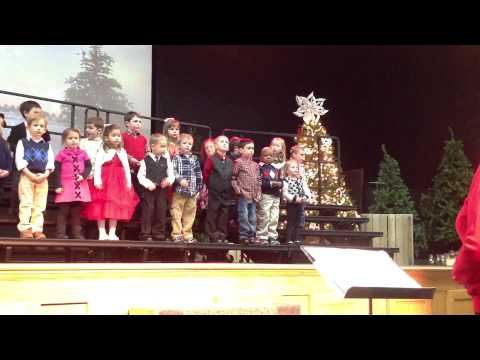 Caity OBrien's Christmas Program At Trinity Christian Preschool Part 1