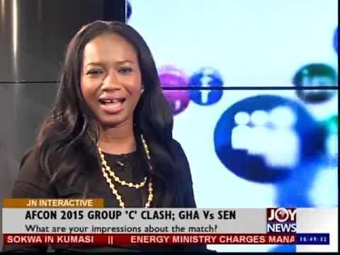 Senegal Scores Ghana - Joy News Interactive (19-1-15)