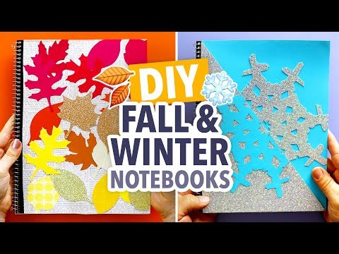 DIY Fall & Winter Notebook Covers with the Crafty Lumberjacks - HGTV Handmade