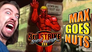 MAX LOSES HIS SH*T: Street Fighter 3: 3rd Strike Online