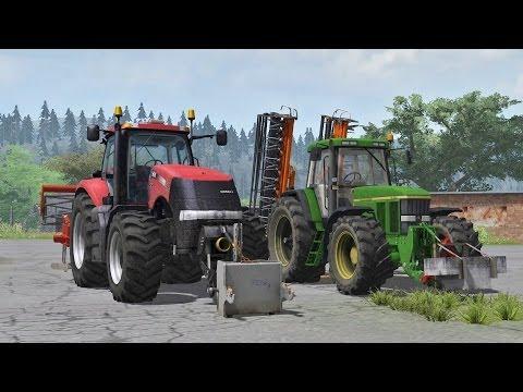 Farming Simulator 2013 Case Magnum 370 + Evers Mit JD7810 + Emy SCP 600