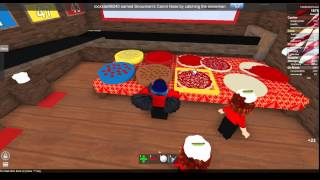 Work at a Pizza Place (ROBLOX Holiday) 12/10/14