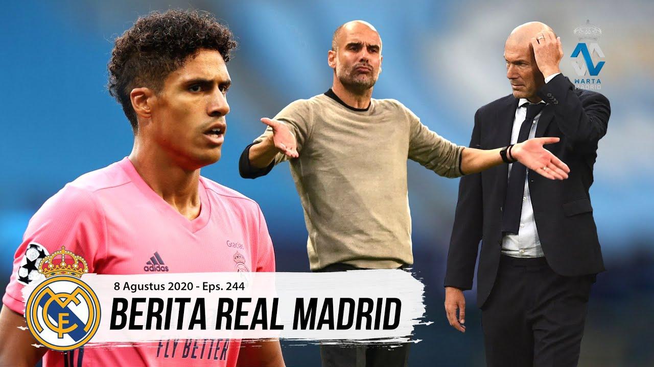 Kegagalan Pertama Zidane di Liga Champions Eropa | Permohonan Maaf Raphael Varane