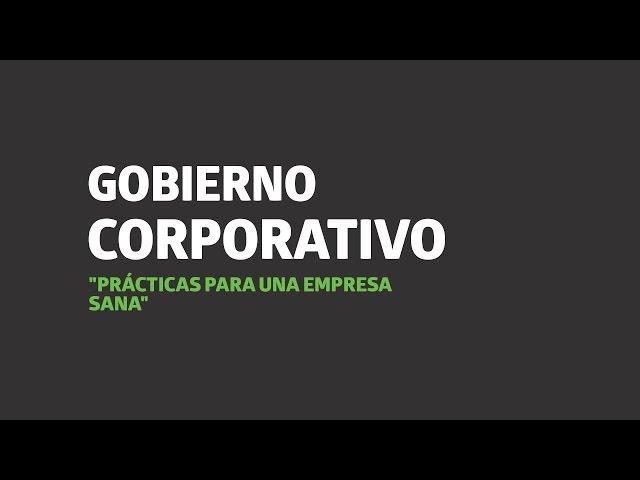 Gobierno coorporativo: prácticas para una empresa sana   UTEL Universidad
