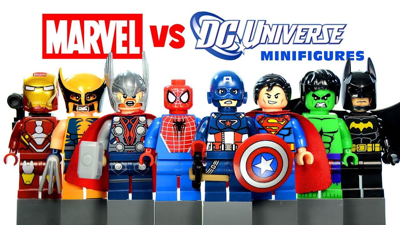 marvel lego minifigures list