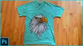 Photoshop Tutorial - T-Shirt Mockup