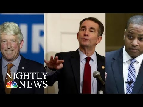 Two Scandals Reopening Old Wounds On Race In Virginia | NBC Nightly News