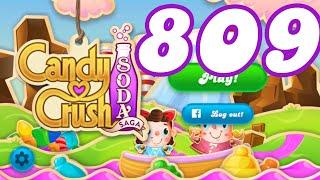 Candy Crush Soda Saga Level 809 No Boosters