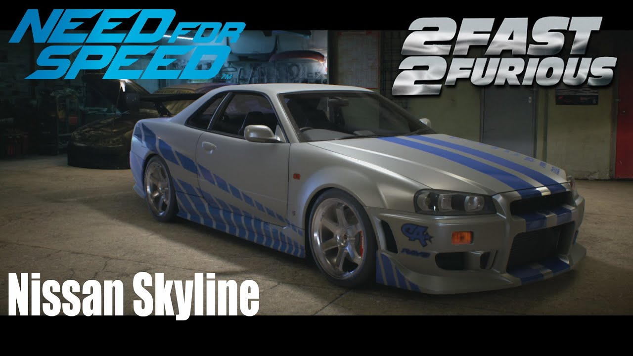 nfs tuning nissan skyline aus 2 fast 2 furious 19 youtube. Black Bedroom Furniture Sets. Home Design Ideas