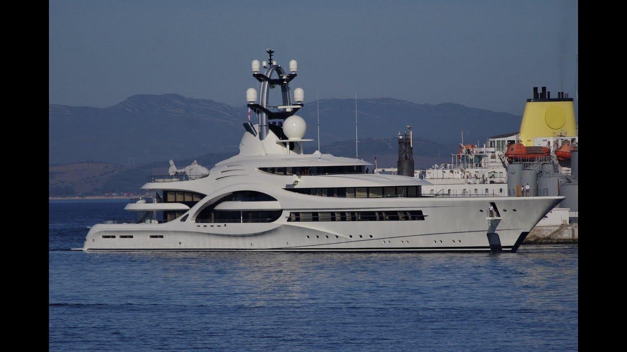 $75 Million Anna Super Yacht in Gibraltar