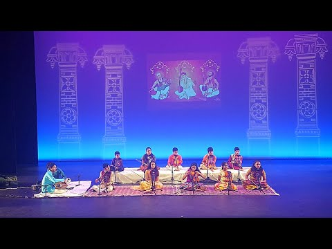 Indian(NRI) Kids Carnatic Music Violin Performance || USA || South Indian Classical Music