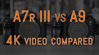 A quick video comparison between the 4K video capabilities of the S...