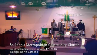 MLK Day of Service - Celebration Service, January 17, 2016