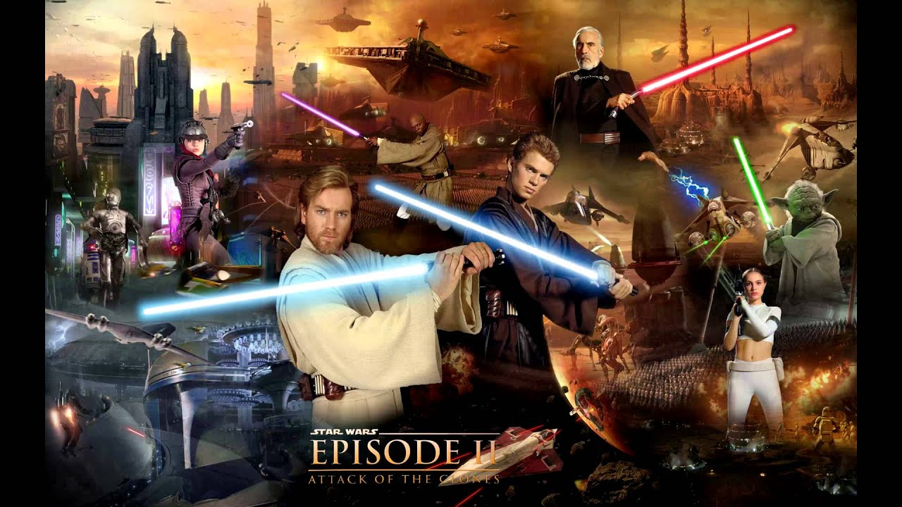 confrontation with count dooku and finale