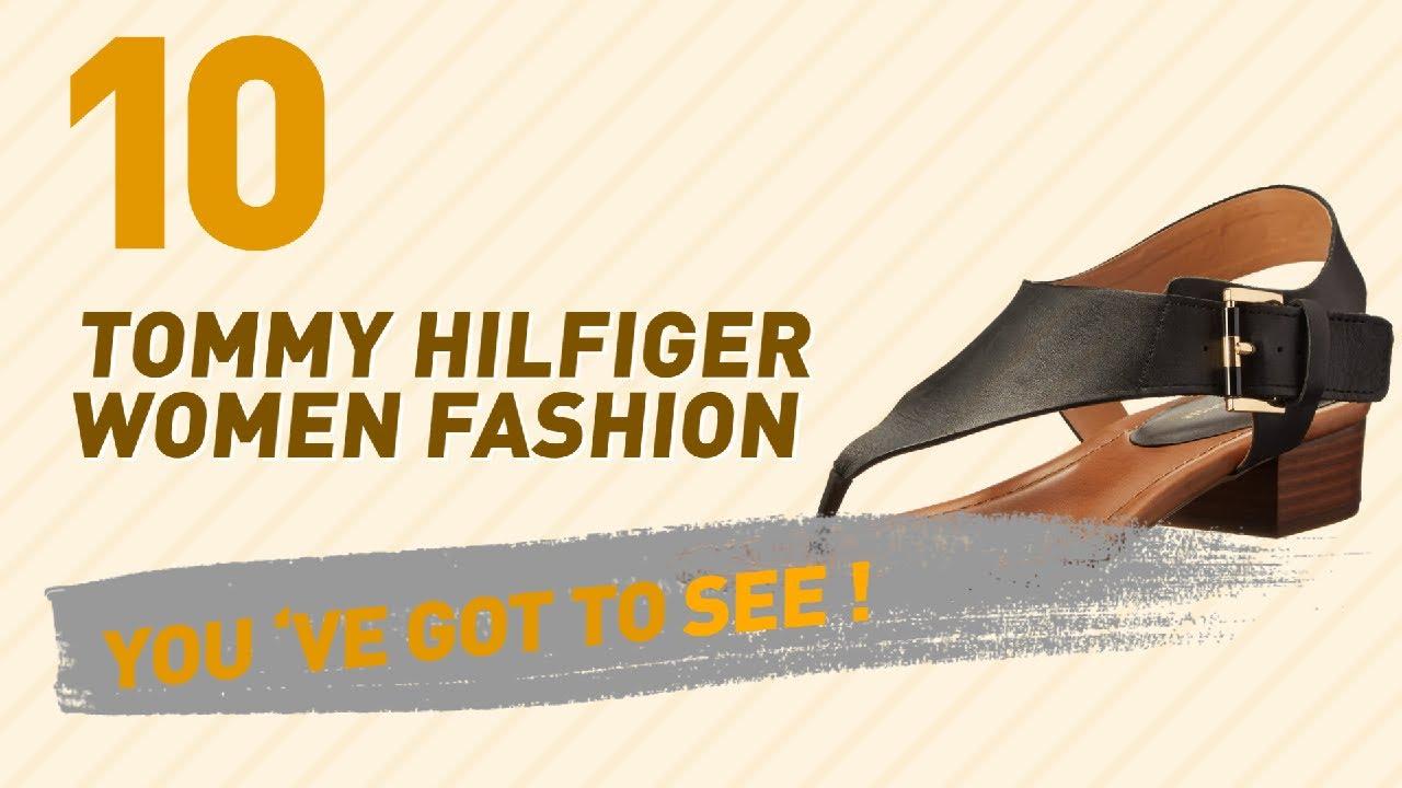 3c382a96dd941 Tommy Hilfiger Heeled Sandals    New   Popular 2017 - YouTube