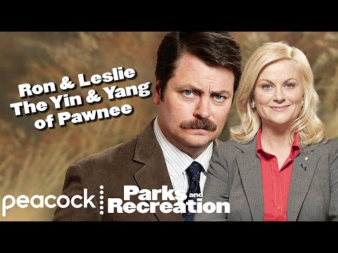 Ron and Leslie - The Yin & Yang Of Pawnee - Parks and Recreation