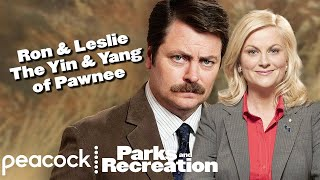 Download Ron and Leslie - The Yin & Yang Of Pawnee - Parks and Recreation Mp3 and Videos