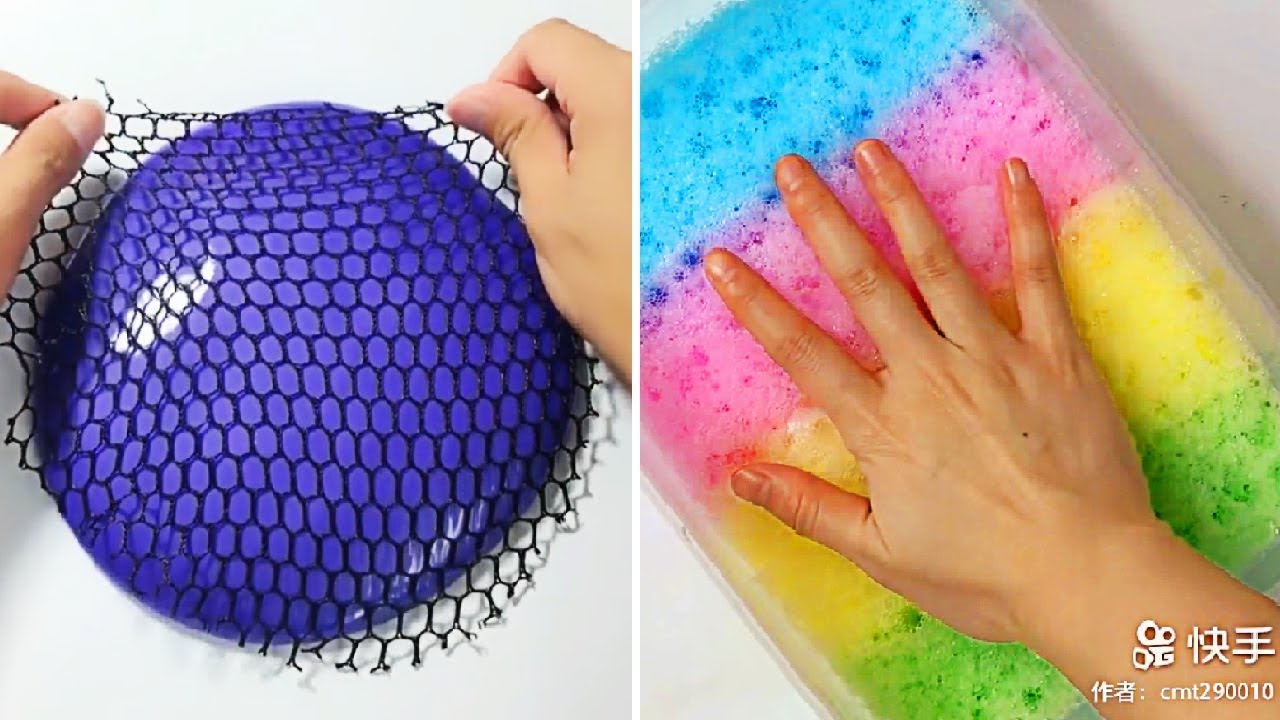 Relaxing Slime Compilation ASMR | Oddly Satisfying Video #21