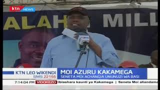 Seneta Moi azuru kaunti ya Kakamega akiwa na kinara wa ANC Musalia Mudavadi