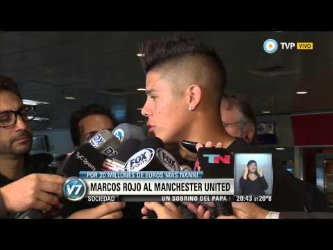 Visión 7 - Marcos Rojo al Manchester United